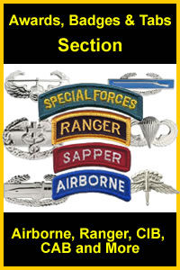 Badges, Tabs, Wings & Other Awards