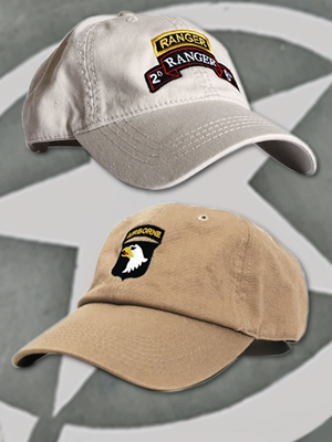Us Army Emblems Embroidered Onto Casual Clothing Shop At