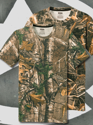 NP0021R - Russell Outdoors™ Realtree Explorer 100% Cotton T-Shirt