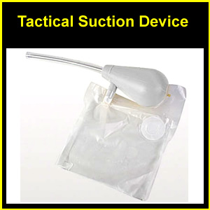 Tactical Suction Device