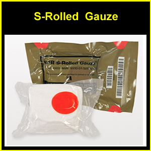 S-Rolled Gauze, Tactical Military