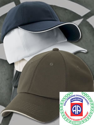 Port Authority Cool-Max Dry-Zone Cap - C838-82ndABDA