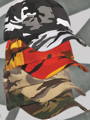 Port Authority Camo Cap
