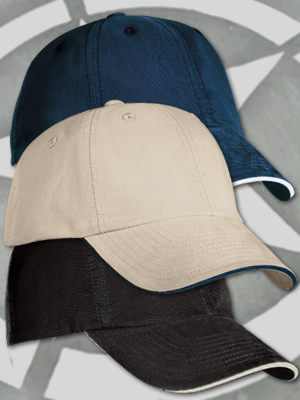 Port Authority  Signature Sandwich Bill Cap w/ CoolMax®