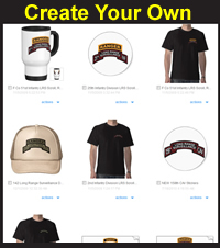 Create Your Own Custom Military Items!