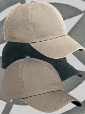Port & Company® Washed Twill Cap