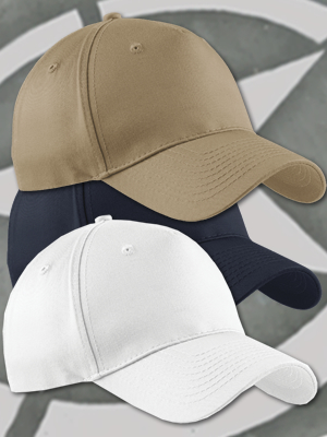 Port & Company® Five-Panel High Profile Twill Cap