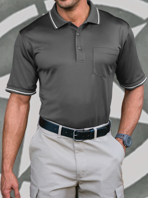 CornerStone® Select Snag-Proof Tipped Pocket Polo - CS415