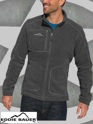 Eddie Bauer® Wind Resistant Full-Zip Fleece Jacket  - EB230
