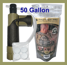 Frontier Pro Water Filter MILITARY EDITION