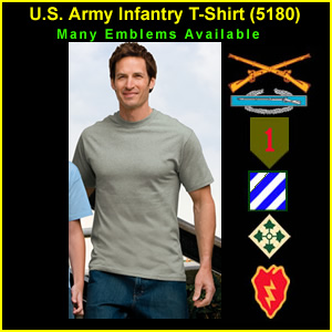 US Army Infantry T-Shirt (5180)