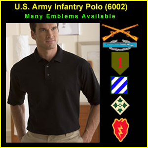 US Army Infantry Polo Shirt (6002)