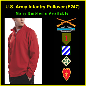US Army Infantry Pullover Shirt (F247)