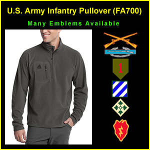 US Army Infantry Pullover Fleece (FA700)