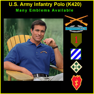 US Army Infantry Polo Shirt (K420)
