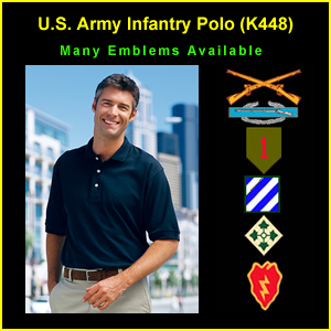 US Army Infantry Polo Shirt (K448)