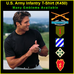 US Army Infantry T-Shirt (K450)