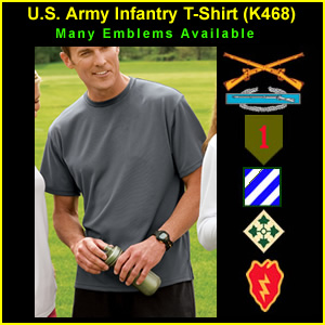 US Army Infantry T-Shirt (K468)
