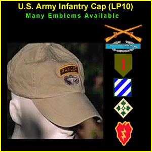 US Army Infantry Cap (LP10)