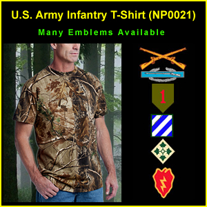 US Army Infantry RealTree T-Shirt (NP0021)