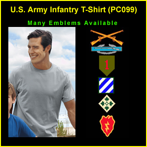 US Army Infantry T-Shirt (PC099)