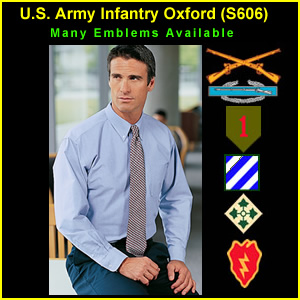 US Army Infantry Oxford Shirt (S606)