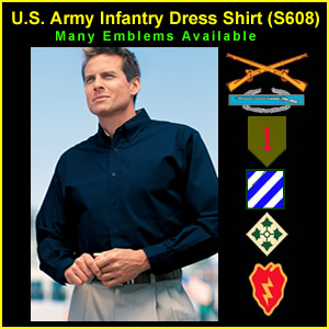 US Army Infantry Dress Shirt (S608)