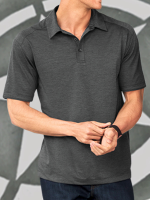 Port Authority® Digi Heather Performance Polo