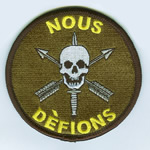 Nous Defions Patch - Item Number: P-00200
