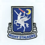 160th SOAR Night Stalkers Patch - Item Number: P-13000