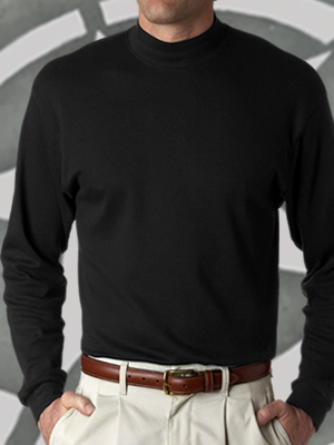 Port & Co. Mock Turtleneck