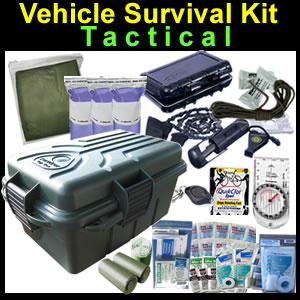 Tactical Vehicle Survival and Medical Kit