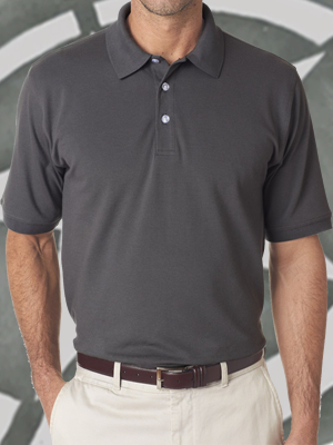 UltraClub® Men's Classic Platinum Polo - UC7500