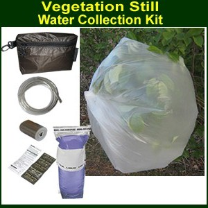 Vegetation Still Kit for Water Collection