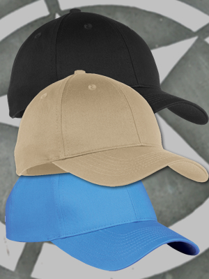YOUTH 6 Panel Twill Cap (Kids)