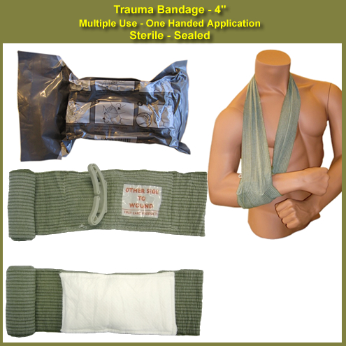 sterile bandage known as sterile dressing A dressing is a sterile pad or compress applied to a wound to promote healing  and protect the  island surrounded by an adhesive backing, ready for  immediate application – these are known as island dressings  modern  dressings will almost all come in a prepackaged sterile wrapping, date coded to  ensure sterility.