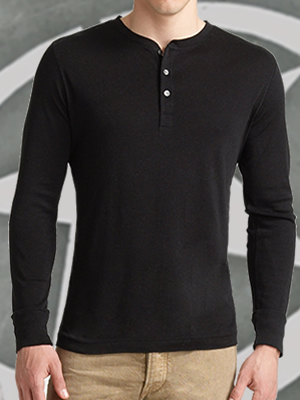 Military Henley Shirts