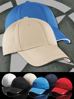 333115 - Nike Golf Dri-Fit® Mesh Swoosh FLEX Sandwich Cap