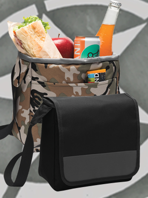 BG753 - Port Authority® Lunch Cooler Messenger