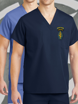CS501 -  CornerStone® Reversible V-Neck Scrub Top