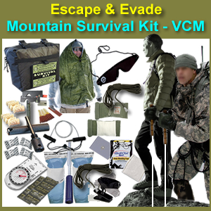 EEMSK-VCM - Escape & Evade Mountain Survival Kit (VCM)