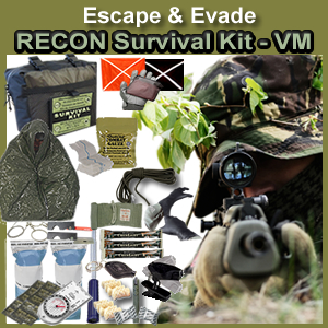 EERMSK-VM - Escape & Evade Recon Military Survival Kit (VM)