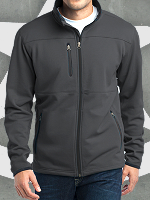 F222 - Port Authority® Pique Fleece Jacket