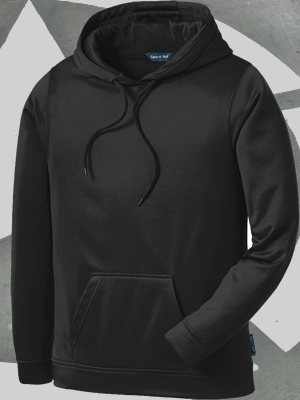 F244 - Sport Wick Pullover Hooded Pullover Sweatshirt