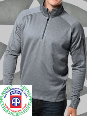 F247-82ndABDA - Sport-Tek® Tech Fleece 1/4-Zip Pullover