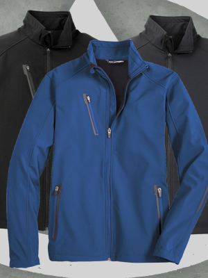 J324 - Port Authority® Welded Soft Shell Jacket