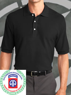 K8000-82ndABDA - Port Authority® 100% EZ Cotton Polo