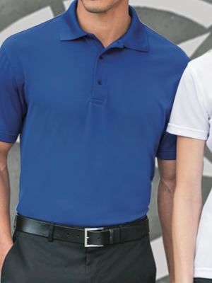 K497 - Port Authority® Poly-Bamboo Charcoal Blend Pique Polo
