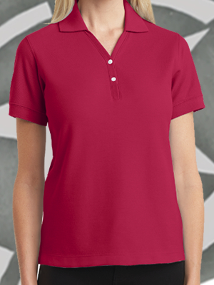 L448 - Port Authority Ladies 100% Pima Cotton Sport Shirt