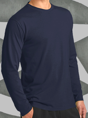 PC381LS - Port & Company® Long Sleeve Performance Blend Tee